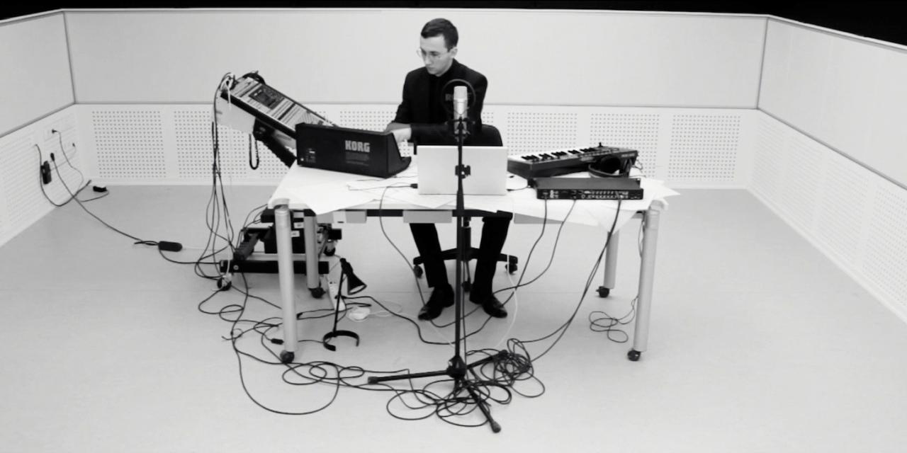 """Constantin Basica.""""Sunt unul dintre compozitorii care au în vedere un viitor public atunci când compun muzică""""."""