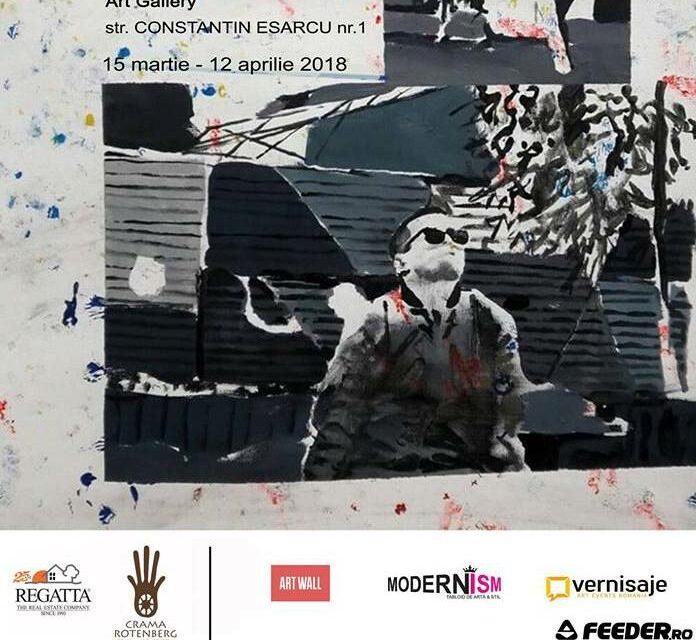 """Expoziția """"ZOO URBAN""""  semnată de  Ion Văcăreanu la galeria Robert Uzunov."""